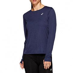 Asics  футболка женская с длинным рукавом Silver