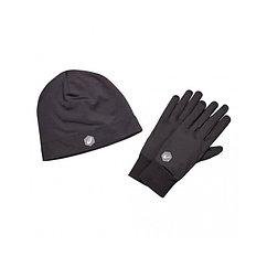 Asics  шапка + перчатки Running pack