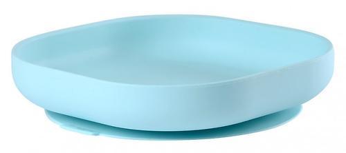 Тарелка Beaba Silicon Suction Plate Blue