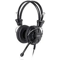 Наушники микрофон A4tech HS-28 BLACK 20Hz-20kHz, 32 Om, 102dB, 1.8m