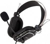 Наушники микрофон A4tech HS-50 20Hz-20kHz, 32 Om, 97dB, 2m