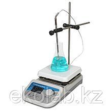 Мешалка магнитная Stegler HS-Pro DT (с подогревом, термодатчиком, до +380 °С)