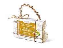 Мыло натуральное с оливой и медом