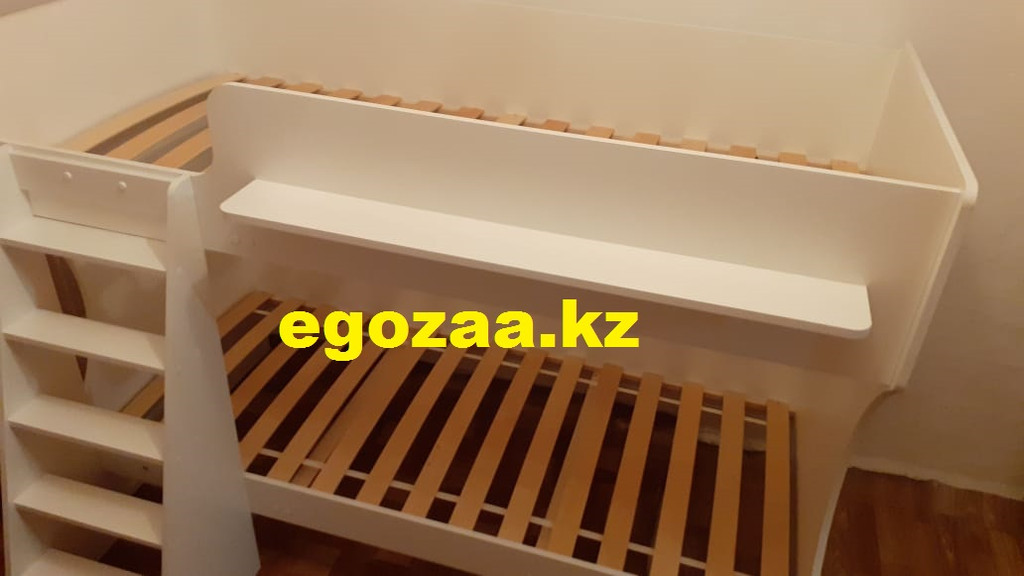 Двухъярусная кровать К432 Капризун белая