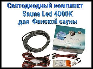 Комплект для финской сауны Cariitti Sauna Led 4000 K (6 светодиодов + трансформатор)