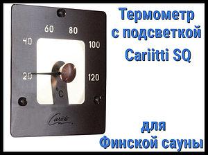 Термометр SQ для финской сауны Cariitti (Нерж. сталь, требуется 1 оптоволокна D=2-4 мм)