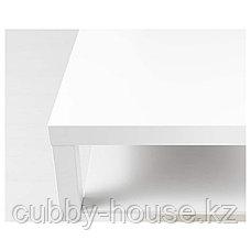 LACK ЛАКК Журнальный стол, белый (дубовый, чёрно-коричневый) 90x55 см, фото 2