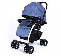 Детская коляска Tomix Carry Blue с перекидной ручкой