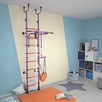 Шведская стенка Polini Sport Active фиолетовый