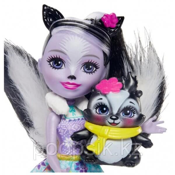 Энчантималс Седж Скунси c куклой и туалетным столиком - фото 4