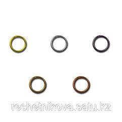 Кольцо для бус под золото , никель, под черный никель