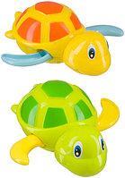 Игрушка для ванной Swimming Turtles Green and Yellow 6мес+ (Happy Baby, Великобритания)