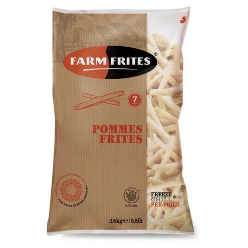 "Картофель фри ""Farm Frites"" 7 мм, 2,5 кг - фото 1"