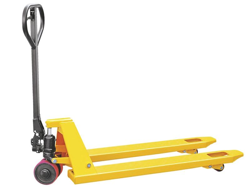 Гидравлическая тележка TOR DF-III 2500, 550*1150*85мм (полиуретан.колеса)