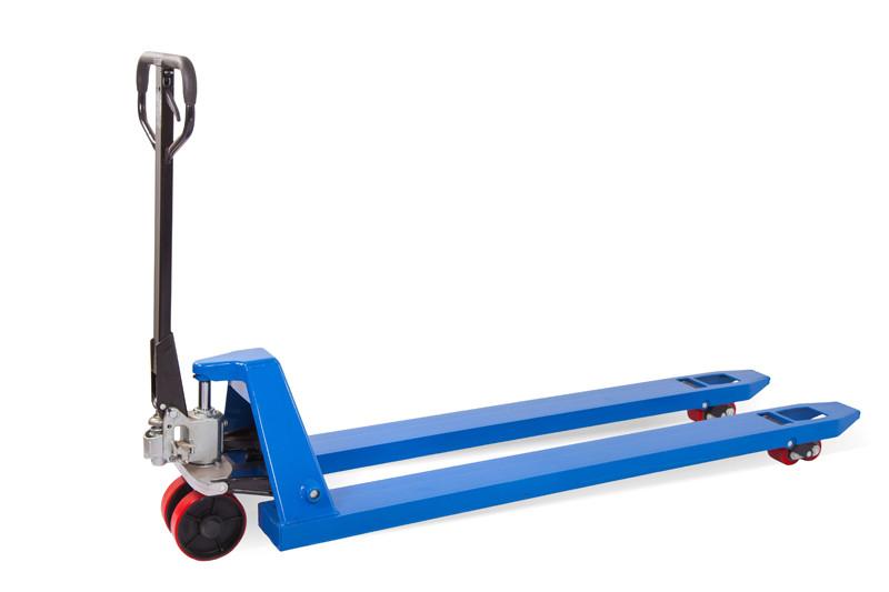 Гидравлическая тележка TOR RHP(BF) 2500, 1800х550 мм (полиуретановые колеса)