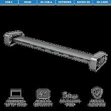 TRUST Dalyx Aluminium Разветвитель USB 10 портов 10-in-1 USB-C