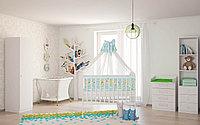 Детская кроватка Фея 323 белая