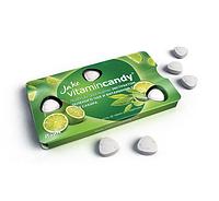 Леденцы Jake Vitamin С Зелёный чая Лайма блистер