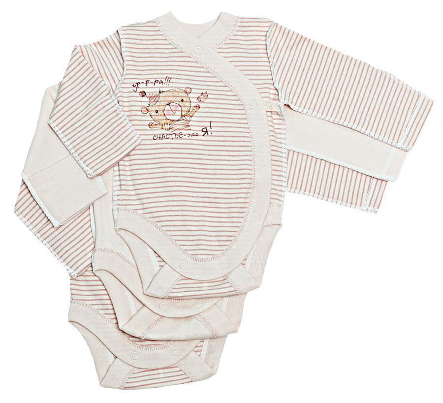 Комплект для новорожденного БИМОША Боди 3 штуки р.56