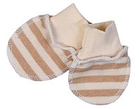 Комплект для новорожденного БИМОША Рукавички 2 пары р.29 ПОЛОСКА ШИРОКАЯ