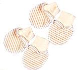 Комплект для новорожденного БИМОША Рукавички 2 пары р.29 ПОЛОСКА УЗКАЯ