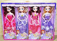 8581 Кукла Smart Girl (руки сгибаются) София 4 вида,8 шт,цена за 1шт 32*11см