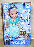 YB2/1 Кукла Frozen с Олофом 2 вида с короной 29*18см, фото 1