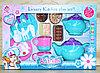 Немного помятая!!! SK77B Набор для чаепития Kitchen детская посуда 35*24см