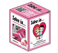 LOVE IS сливочные жевательные конфеты КЛУБНИКА