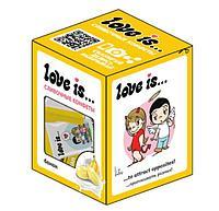 LOVE IS сливочные жевательные конфеты БАНАН
