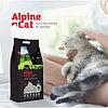 Alpine cat,комкующийся наполнитель с активированным углем и зеленым чаем,5 л. 4 кг