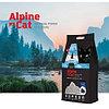 Alpine cat,комкующийся наполнитель с активированным углем,5 л. 4 кг
