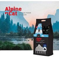 Alpine cat,комкующийся наполнитель с активированным углем,10 л. 8 кг.