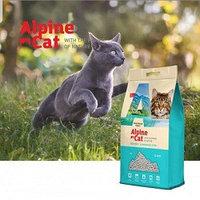 Alpine cat,комкующийся наполнитель без аромата,10 л.