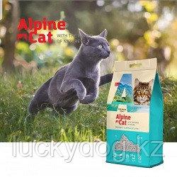 Alpine cat,комкующийся наполнитель без аромата,10 л. 8 кг