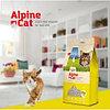 Alpine cat,комкующийся наполнитель с ароматом цитруса,15 л 12 кг