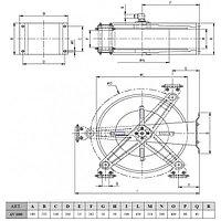 """Барабан ramex нержавеющая сталь для рукава длинной 15 м 1/2"""", фото 4"""