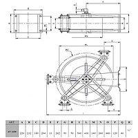 """Барабан ramex нержавеющая сталь для рукава длинной 20 м 1/2"""", фото 2"""