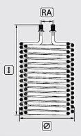 Змеевик (спираль) для аппарата высокого давления Portotecnica. Faip HD 200 / Fire Box / Futura / Golden Jet /, фото 2