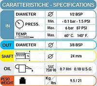 Bertolini TML 1220 Плунжерный насос высокого давления, фото 2