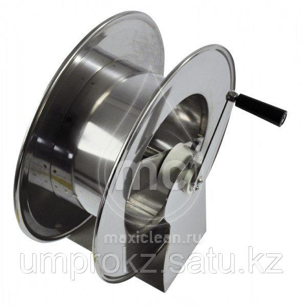 Ручной усиленный барабан из окрашенной стали для шланга AVM 9811 FE