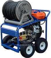 Каналопромывочный аппарат MC 160/38 BENZ (160 bar) электростартер, фото 3