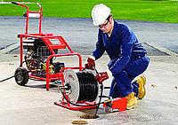 Каналопромывочный аппарат MC 160/38 BENZ (160 bar) электростартер, фото 4