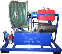 Гидродинамическая машина для прочистки труб MC 190/50 BENZ (190 bar) электростартер, фото 2