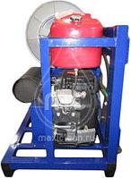 Гидродинамическая машина для прочистки труб MC 190/50 BENZ (190 bar) электростартер, фото 3