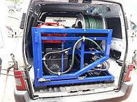 Гидродинамическая машина для прочистки труб MC 190/50 BENZ (190 bar) электростартер, фото 4