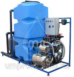 Система очистки воды для автомоек АРОС-3 Д (с дозатором хим. реагента)