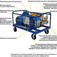Серия АВД «Посейдон E37-1Ex» во взрывозащищенном исполнении, 37 кВт, 13-25 л/мин, фото 4