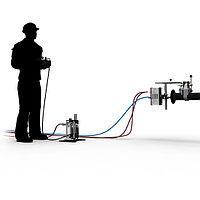 Система для дистанционного управления гибким копьем/шлангом при гидродинамической очистке труб, трубопроводов, фото 3