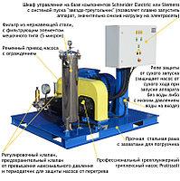 Серия высоконапорных аппаратов Посейдон E75 (500-2500 бар) в исполнении на раме (ВНА-1500-26), фото 2